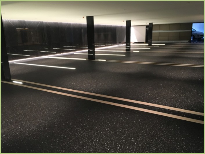 Parking sous terrain en Suisse