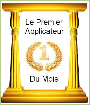 Le premier applicateur du mois